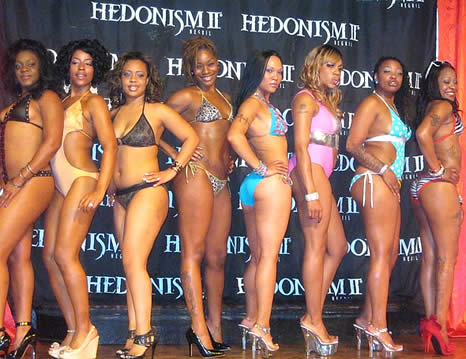 hedonism ii black women